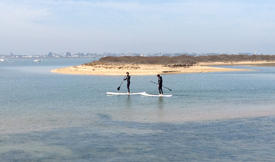 Initiation au Stand Up Paddle en Normandie