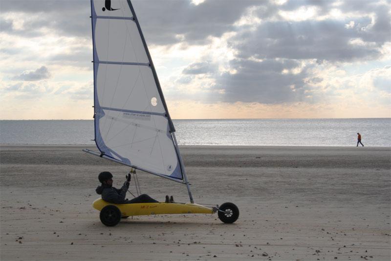 Stage Char A Voile Sur L Ile De Noirmoutier Ocean Box Le Specialiste Du Coffret Cadeau Char A Voile