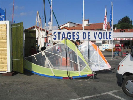 Yacht Club Basque Saint Jean de Luz stages de voile