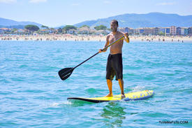 Arteka centre multiglisse Hendaye stand up paddle