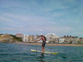 Stand Up Paddle Arteka centre multiglisse Hendaye