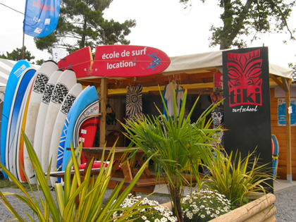Tiki Surf School école de surf, bodyboard, stand up paddle à Labenne dans Les Landes